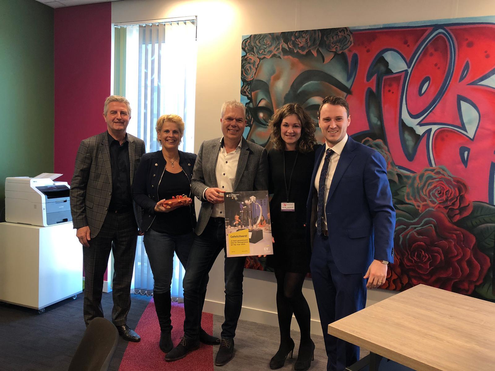 John Celie genomineerd voor EY Entrepreneur Of The Year 2019